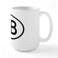 Great Britain - GB Oval Mug