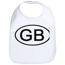 Great Britain - GB Oval Bib