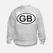 Great Britain - GB Oval Sweatshirt