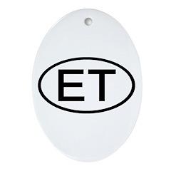 Egypt - ET Oval Oval Ornament