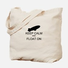 Keep Calm and Float On Tote Bag