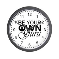 Be Your Own Guru Wall Clock