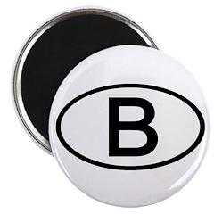 Belgium - B Oval 2.25