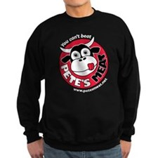 Pete's Meat Men's Sweatshirt (black)