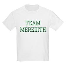 TEAM MEREDITH  Kids T-Shirt