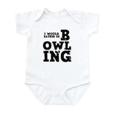 'Rather Be Bowling' Infant Bodysuit