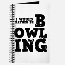'Rather Be Bowling' Journal