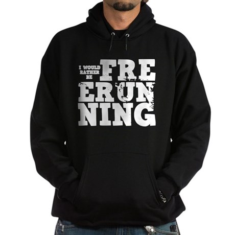 'Free Running' Hoodie (dark)