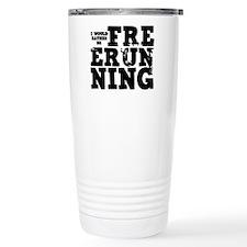 'Free Running' Travel Mug