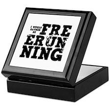 'Free Running' Keepsake Box