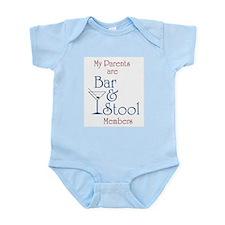 Bar & Stool Infant Creeper
