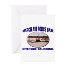 March Air Force Base Greeting Card