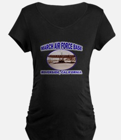 March Air Force Base Maternity T-Shirt