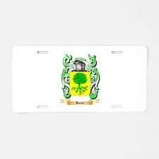 Boyle Aluminum License Plate