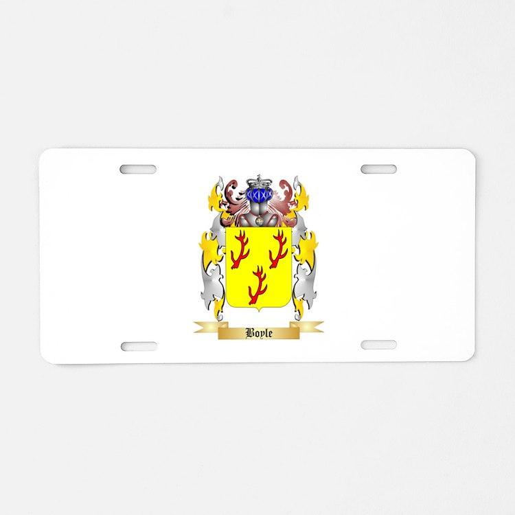 Boyle (Scottish) Aluminum License Plate
