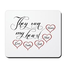 Children They own my heart Mousepad