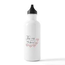 Children They own my heart Water Bottle