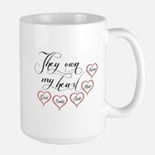 Children They own my heart Mug