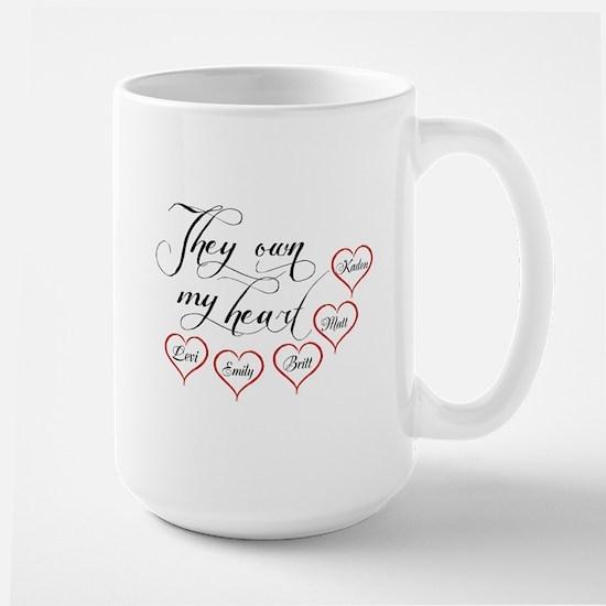 Children They own my heart Mug