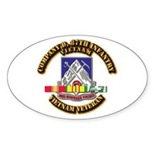 Army - Company D, 87th Infantry Decal