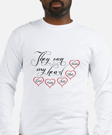Children They own my heart Long Sleeve T-Shirt