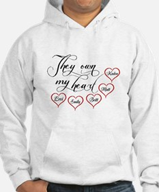 Children They own my heart Hoodie