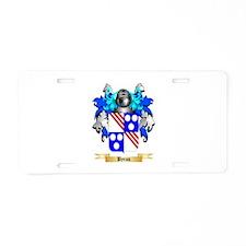 Byron Aluminum License Plate