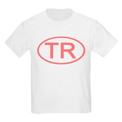 Turkey - TR Oval Kids T-Shirt