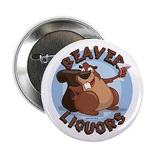 """Beaver-Liqours.png 2.25"""" Button"""