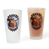 Beavers Pint Glasses