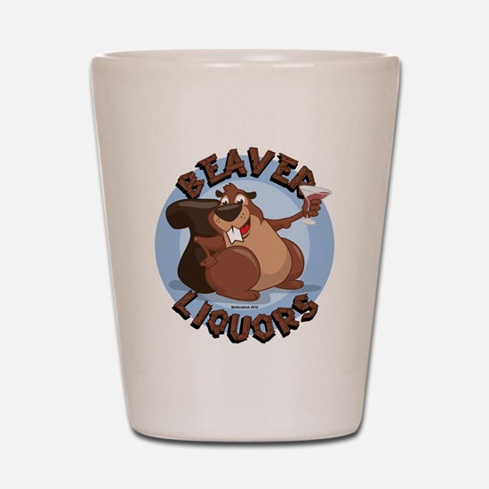 Beaver-Liqours.png Shot Glass