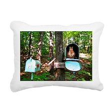 6x4 Bunny Rectangular Canvas Pillow