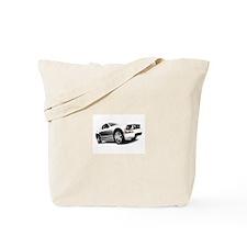 Silver Mustang Tote Bag