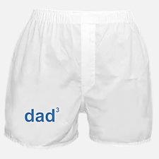 Dad Of Three Boxer Shorts