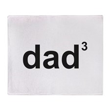 Dad Of Three Stadium Blanket