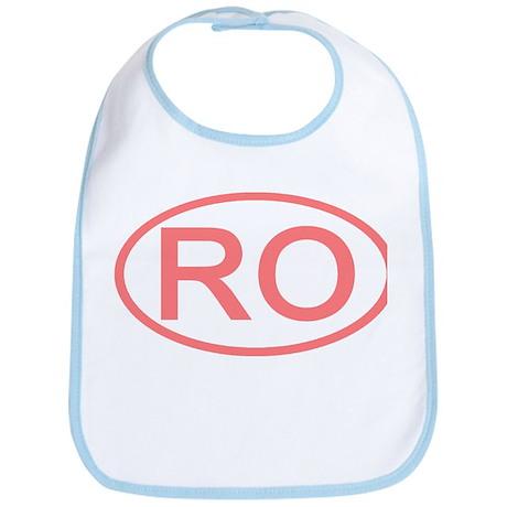 Romamia - RO Oval Bib