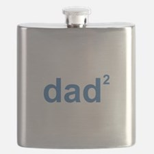 Dad Of Two Flask