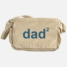 Dad Of Two Messenger Bag