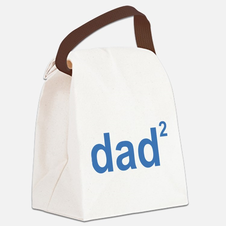 Dad Of Two Canvas Lunch Bag