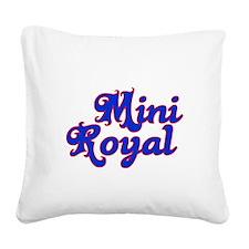 mini royal Square Canvas Pillow