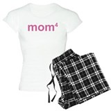 Mom of 4 T-Shirt / Pajams Pants