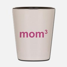 Mom Of Three Shot Glass