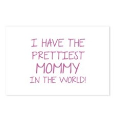 Prettiest Mommy In The World Postcards (Package of
