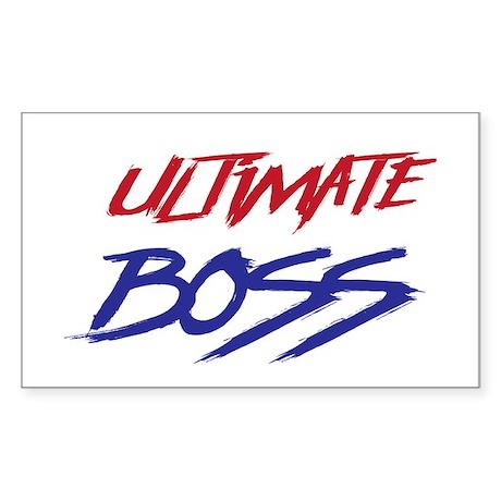 ultimate boss sticker