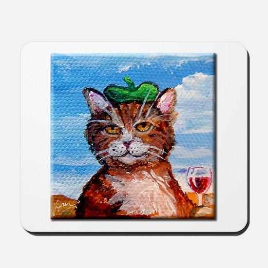 Pierre Le Chat Mousepad