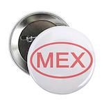 Mexico - MEX Oval Button