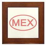 Mexico - MEX Oval Framed Tile