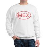 Mexico - MEX Oval Sweatshirt