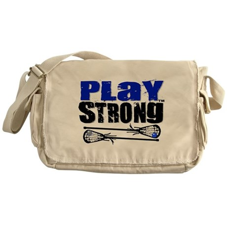 Play Strong LAX Classic Messenger Bag