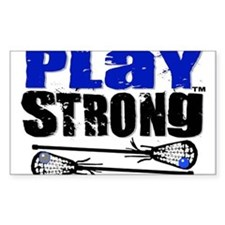 Play Strong LAX Classic Decal